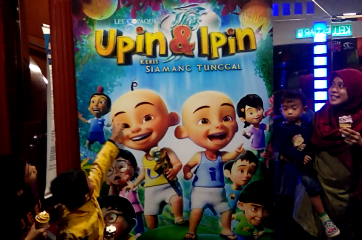 Upin & Ipin Keris Siamang Tunggal review