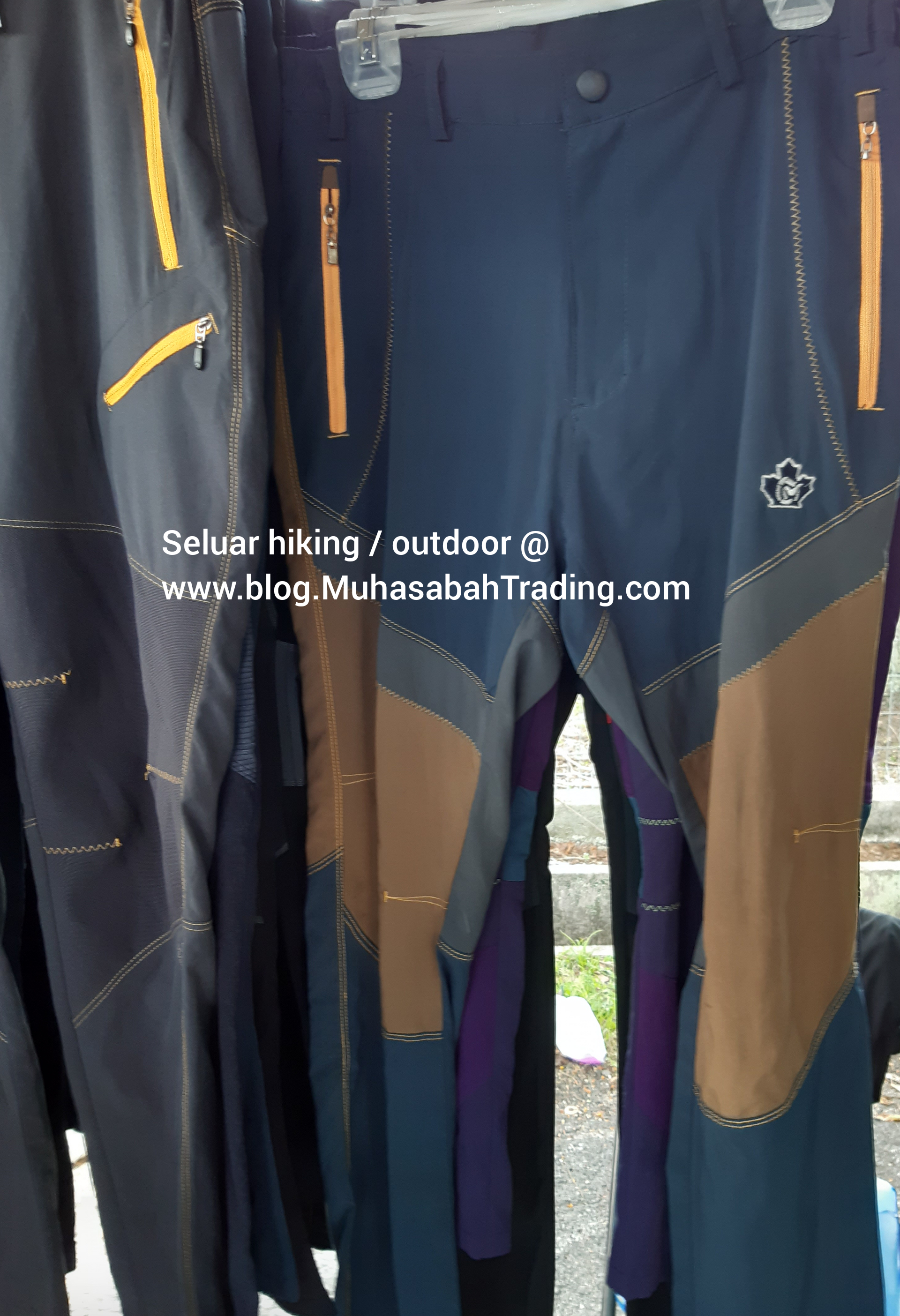 Seluar bundle hiking Muar outdoor parit sulong